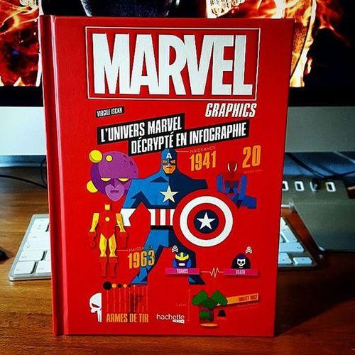 Petite trouvaille chez Cultura : Marvel Graphics : L'Univers Marvel décrypté en Inforgraphie !! Chart Infochart Infography Hachette