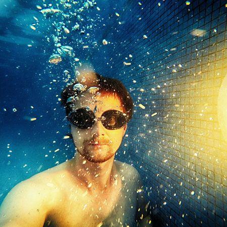 Sweemingpool Underwater GoPro Hero3+ Nakedboy Relaxing Holiday Resting Nice Atmosphere Hot Bubbles First Eyeem Photo