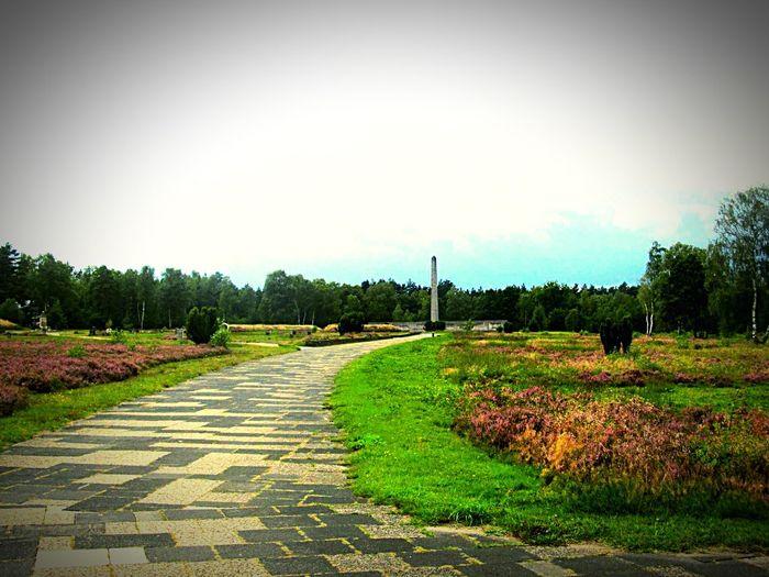 Cementery Gedenkstätte Memorial Worldwar2 Zweiter Weltkrieg Bergen-Belsen