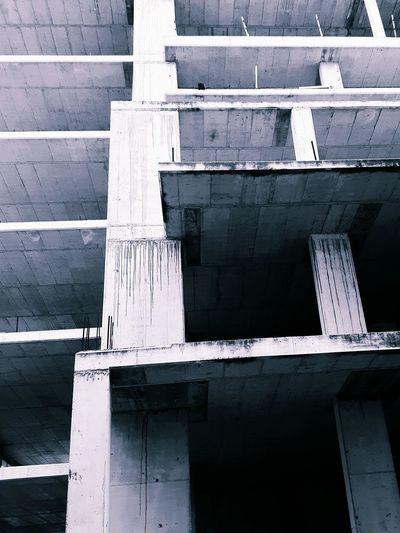 Monochrome Built Structure Building Construction Site Architecture Engineering Instagramer Umeugram