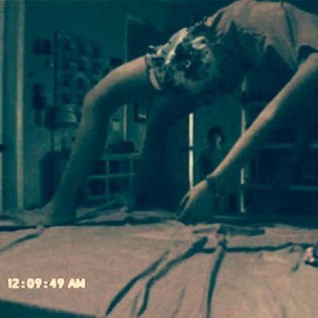 Filmem a noite de vcs... Acontece sempre comigo... Paranormalactivity Sleep ?