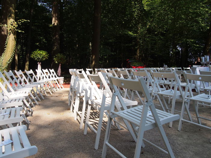 wedding 08.2016 Chair Day No People Outdoors