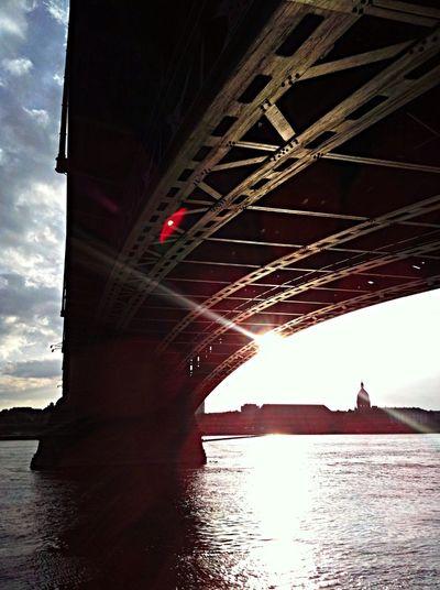 ...under the bridge