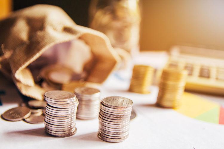 Thai coins.