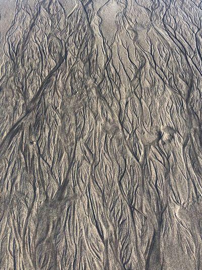 Sand pattern Beach Sand Wet Sand Patterns Pattern, Texture, Shape And Form Pattern Sand Beach