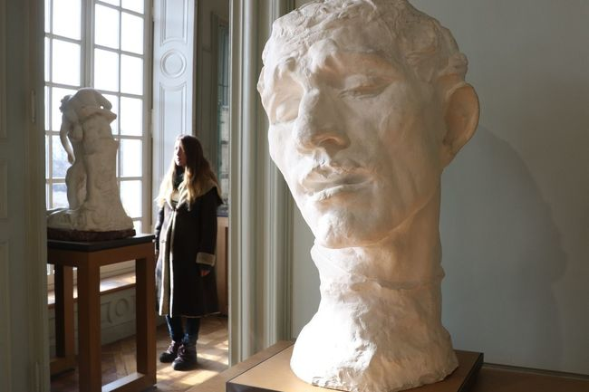 Musée Rodin, Paris Art And Craft Statue Sculpture Human Representation Creativity Male Likeness Window Indoors  Bust  Day Artist One Person Human Hand