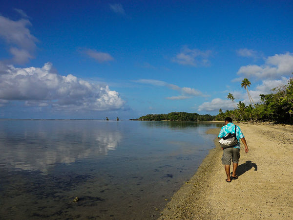 My Year My View Beach One Person Cloud - Sky Travel Destinations SUVA FIJI ISLANDS Sea People Tranquility One Man Only Streetphoto_color Fiji Fiji Islands The Street Photographer - 2017 EyeEm Awards