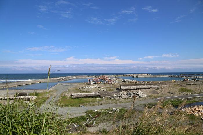 何一つ変わっていなかった風景。東日本大震災 風景 富岡町 漁港