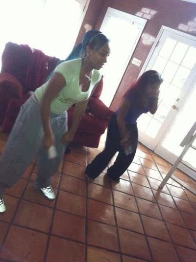 #ThrowbackThursday Me & my Bluey baby playing the Wii