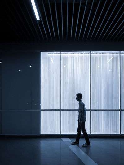 Human Being Full Length Men Occupation Standing Side View Working Silhouette Building Calm Office Building First Eyeem Photo