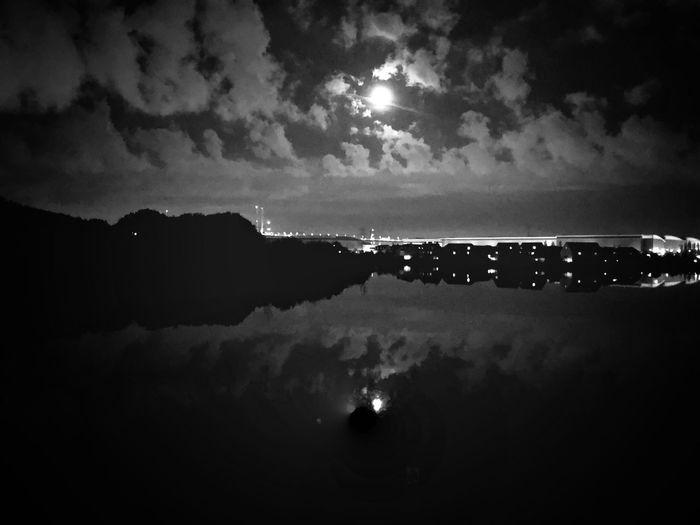 Moon On The Lake First Eyeem Photo