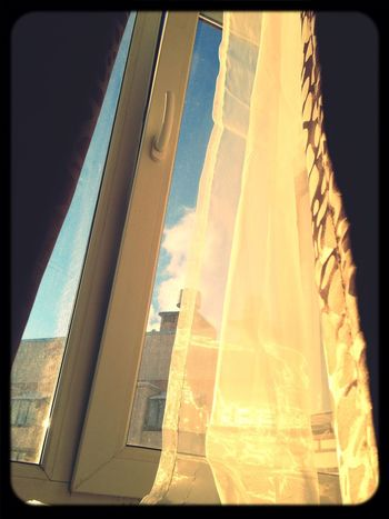 Sunshine зима Winter Window