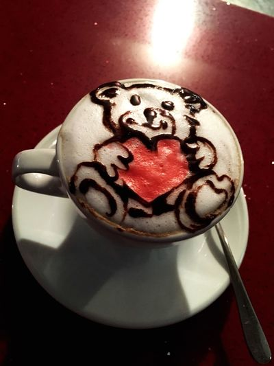 San Valentine's Day Capuchin Teddy Bear Heart ❤ EndyStyle