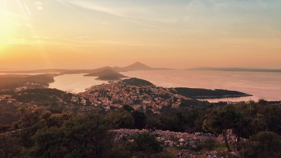 Q Quintessence | Mali Losinj & Losinj bay, Island Losinj, Croatia, 2015. Quintessence Losinj Mali Lošinj Veli Lošinj Croatia Landscape Bay Adriatic Adriatic Sea Sea Water Nature Spring Town Marine Above Tree Sunset Beautiful Environment The Great Outdoors - 2016 EyeEm Awards Cosy Travel Travel Destination