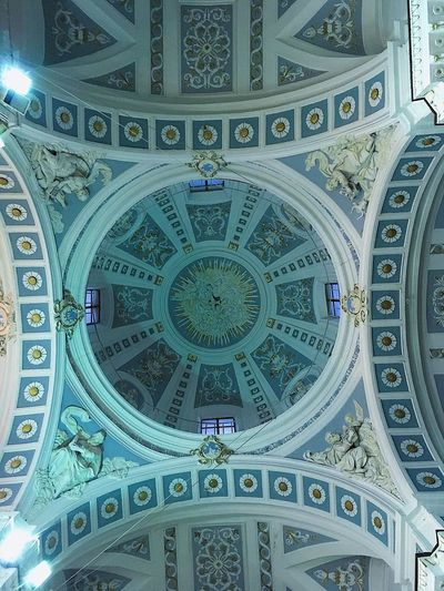 EyeEmBestPics EyeEm Best Shots EyeEmNewHere EyeEm Nature Lover Built Structure Architecture Pattern Ceiling No People Indoors  The Past History Place Of Worship Creativity Low Angle View Circle Travel Destinations Religion Art And Craft Dome Directly Below