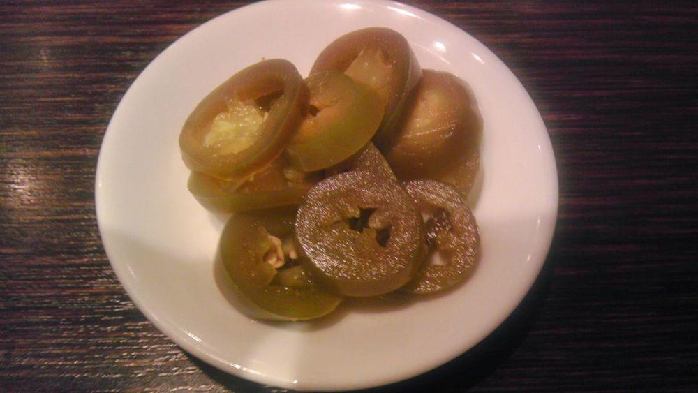 カレーのお供に…ハラペーニョのピクルス Curry Jalapeno Pickles