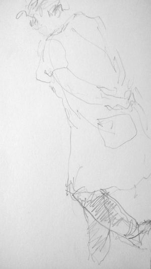More sketches Drawings The Purist ( No Edit, No Filter ) Blackandwhite Hanging Out ArtWork