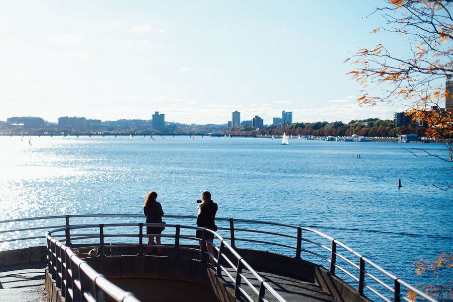 Well sometimes I go out by myself, and I look across the water... Charles River Incidental People Riverside Water Showcase: November