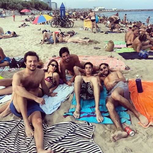 Playa Bogatell Nudisti