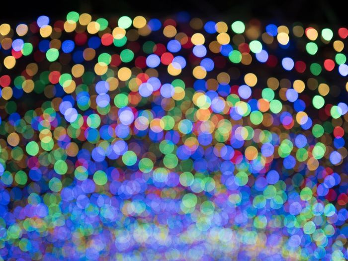 Abstract Backgrounds Defocused Light Effect Multi Colored No People Outdoors Pattern