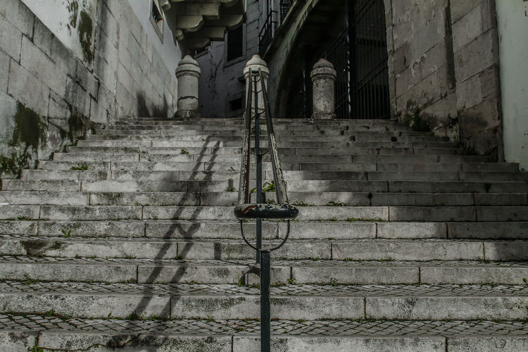 Alfama Lisboa Portugal Portugal Stairs Corrimao Escadas History Low Angle View First Eyeem Photo