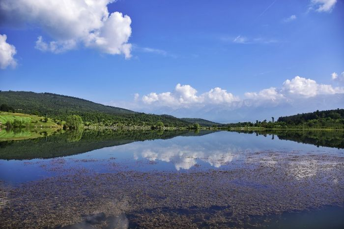 Reflection EyeEm Nature Summertime Tourism Clouds And Sky Bursa / Turkey Keles Gököz Naturalpark Lake Landscape No People Summer Views EyeEm Gallery Uludag Beauty In Nature Ecosystem  Travel Destinations Perspectives On Nature