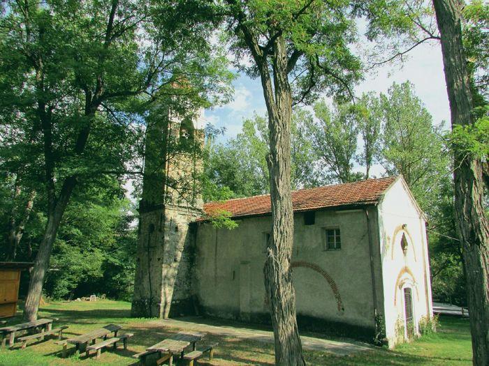 The little church in Miogliola