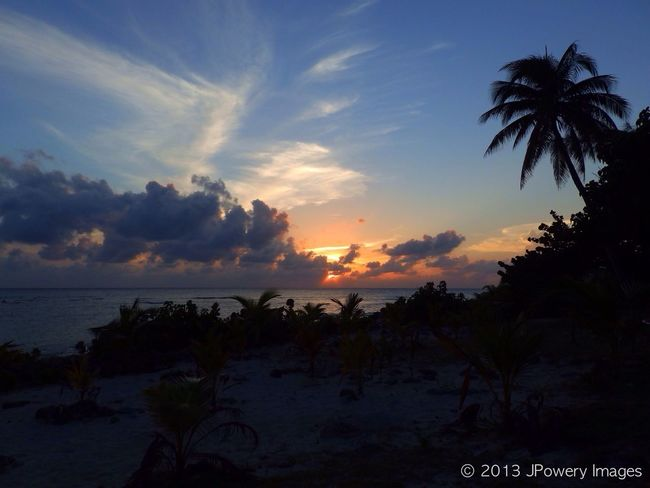 Silhouette Sunset Sky Sun_collection