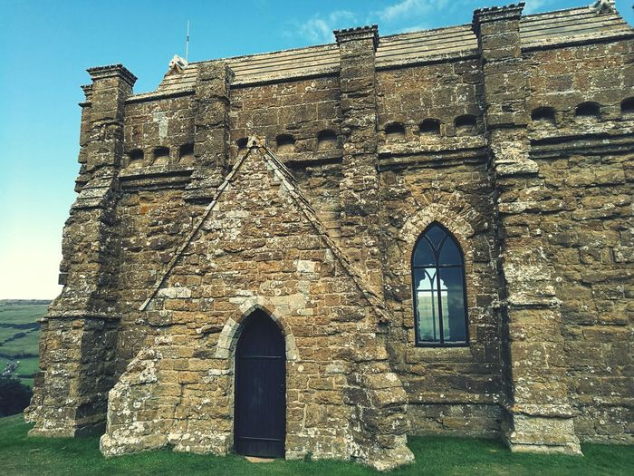 Built Structure Building Exterior Architecture Window Arch Old History Low Angle View Old Ruin Wall The Past Clear Sky Medieval Stone Wall Ruined Outdoors Sunny Weathered Damaged Eye4photography  EyeEm Best Shots