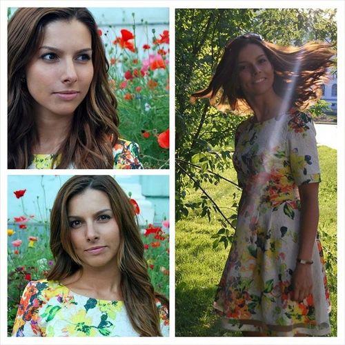 Ежегодный фотозабег на каблуках и в платье прошел прекрасно :) Caprediem Imlovinit Tomsk лето2014
