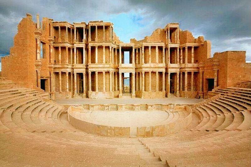 Sabrath Libya Ancient Ancient Ruins Ancient City Roman Check This Out