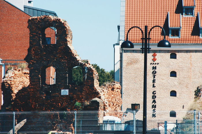 Remnants of post-war. Remaining ruins of WWII in Gdańsk, Poland destroyed by the Red Army in 1945. This photo was taken last 2014. Is it worth to restore it and develop? Or leave it the way it is, in memoirs of unforgotten past. Remnants Of History Memories Ruins Architecture Ruins Brick Wall Brickporn History Through The Lens  Travel Photography EyeEm The Street Photographer - 2016 EyeEm Awards World War Ruins World War 2 Ruins World War 2 Historical Place Gdansk (Danzig) Gdansk Poland Live For The Story