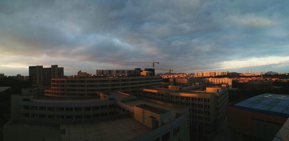 Cloud - Sky Buildings Building Sunset Sunset_collection City Cityscape Cloud - Sky