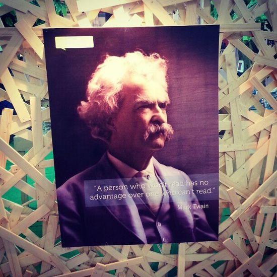 Bookfair Marktwain Quote