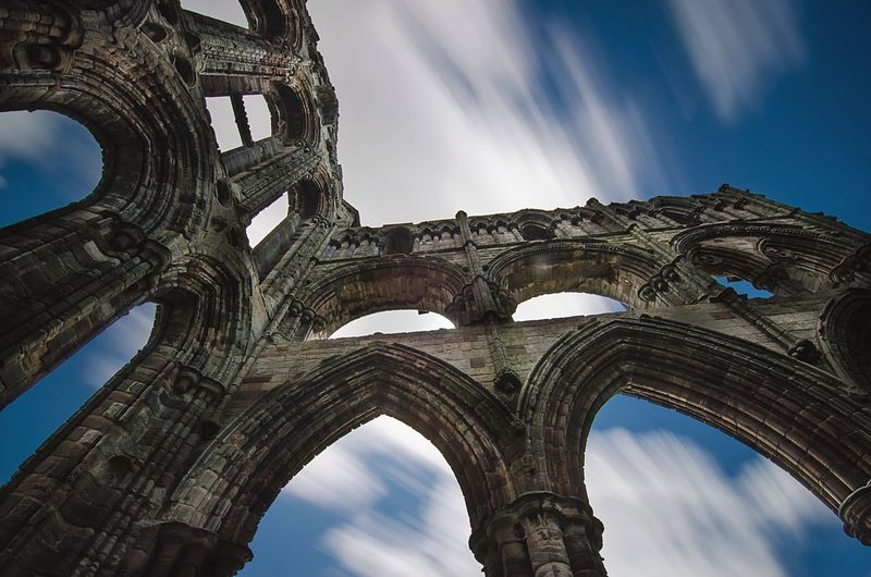 Holy Ruins | Whitby Abbey, Whitby, GB The Architect - 2015 EyeEm Awards Sky Collection Long Exposure Eye4photography  EyeEm Best Shots EyeEm Masterclass EyeEm Nature Lover The Traveler - 2015 EyeEm Awards Whitby Amazing Architecture