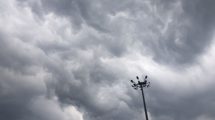 The storm is coming Rain Storm Spotlight Alert Low Angle View Cloud - Sky Outdoors Day No People Sky Nature