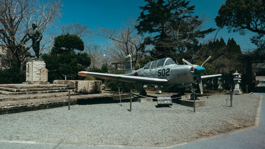 Aircraft Chiran Day Japan Japan Photography Kamikaze Military No People Outdoors Sky Tree