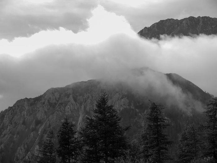 Clouds between