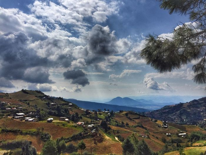 Paraje Mountain Nature Scenics Beauty In Nature Tranquil Scene Landscape Tree Tranquility Sky Michoacan, México Idyllic Green Color Mountain Range Outdoors Cloud - Sky No People Day