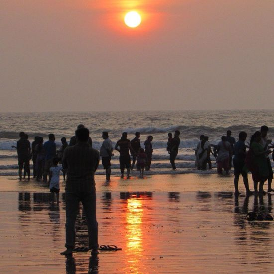 Sunset Beach Awesome Place Dapoli Love Peace .. ^_^
