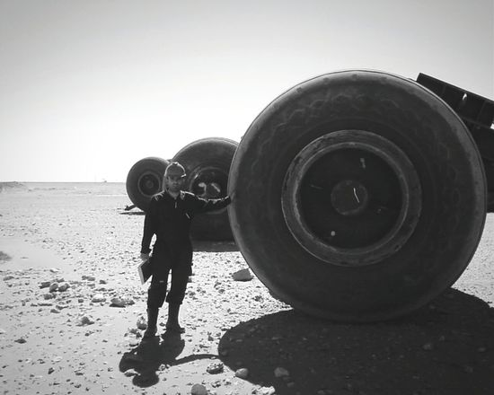 Working Hard . Black & White . Black And White . Oil Field . Oil Rig . Huge . Monster Trucks .