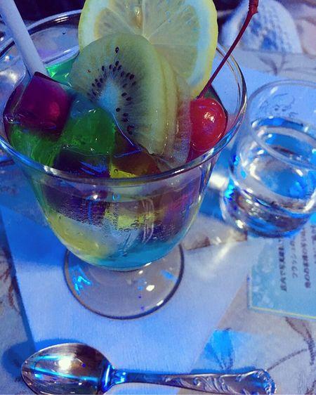 Cafe Jerry 喫茶 ソワレ Blue