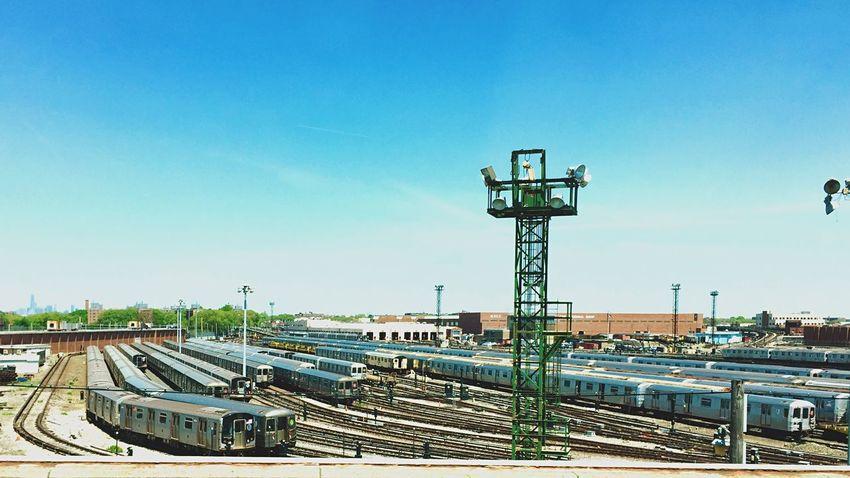 The Yard Train Yard Subway New York I Heart New York