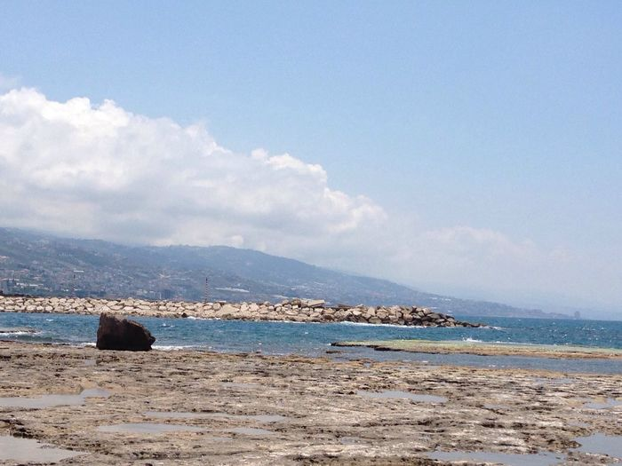 Mediterranean  Strand Of Byblos  Nature