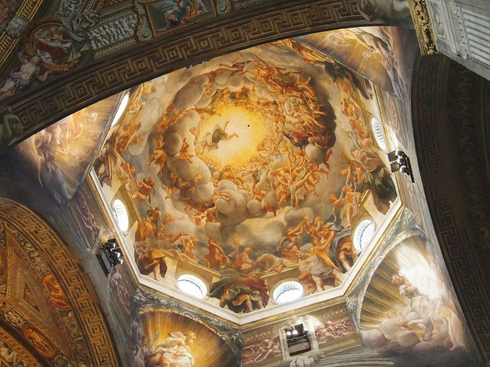 the Leftovers Cupola Cathedral Parma Correggio Assunzione Renaissance Emilia Beauty Frescoes Art And Craft Masterpiece Unesco Colors Decoration ArtWork Painting Italy Travel Destinations Architecture Low Angle View Indoors  EyeEm Gallery EyeEm Best Shots Eyeemphotography Perfection