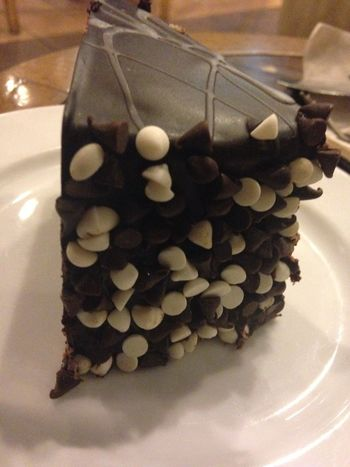 Triple Chocolate Cake 😛😛😛 Food Food Porn