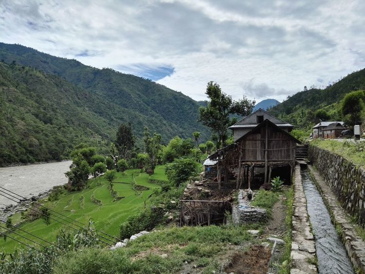 Nepal Travel HimalayaScape Himalayan Foothills Nature Photography Houses And Windows Canals And Waterways Monsoonseason