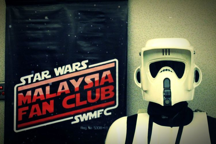 D.I.Y Scout trooper, spotted him at AniManGaki Cosplay Scouttrooper Starwars SWMFC in Malaysia EyeEm Best Shots