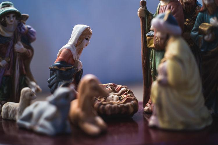 Baby Christmas Christmas Decorations Christmastime Jesus Mary Nativity Nativity Scene NativityScene People Statue