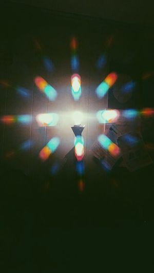 Lighting Equipment Illuminated No People Indoors  Light Lamp Lightbulb Light Spectrum Rainbow Science And Art Day Rainbow Light Rainbow Glasses Phoneography Phonecamera PhonePhotography Phone Camera Phone Art Phoneographer Phonephotographer
